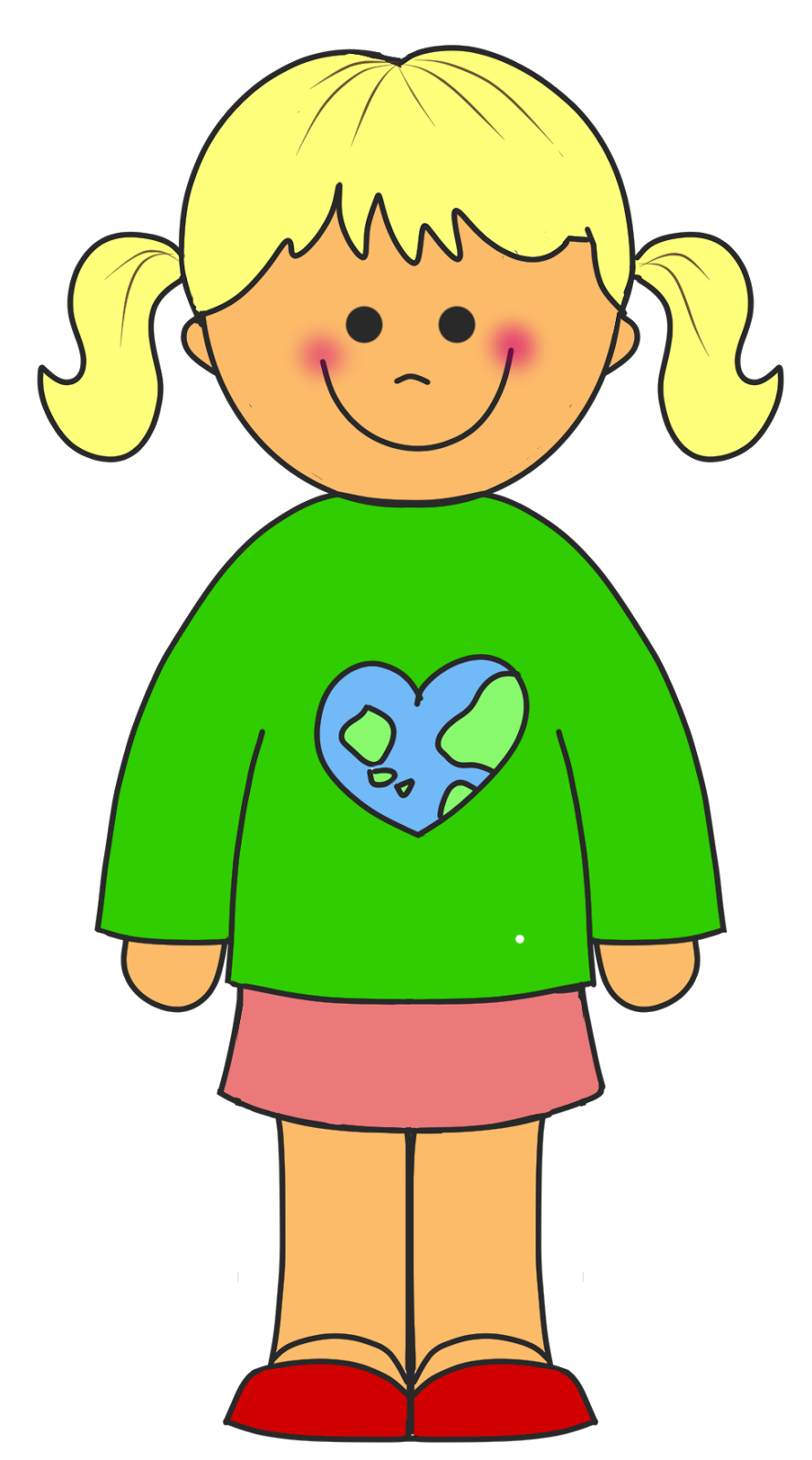 little girl clipart images - photo #12
