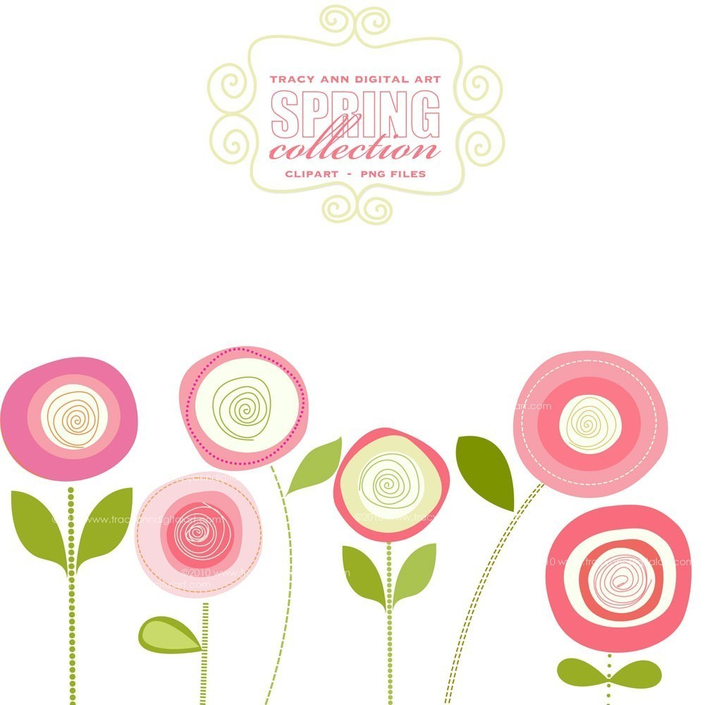 70 images of Spring Flowers Clipart . You can use these free cliparts ...