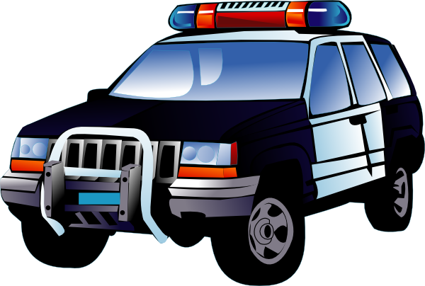 Free to Use & Public Domain Police Car Clip Art