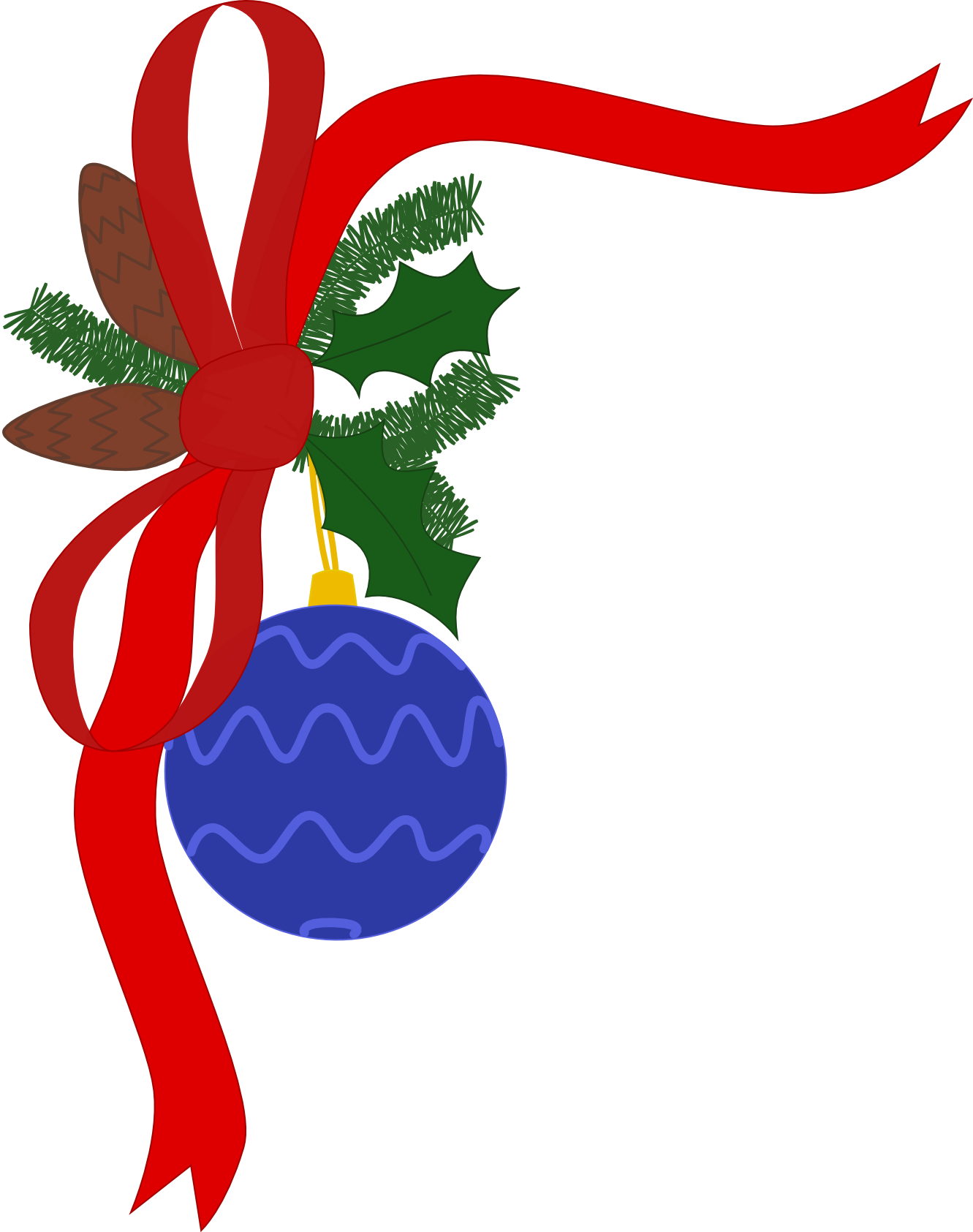 Clipart Christmas Decorations | Clipart Panda - Free Clipart Images