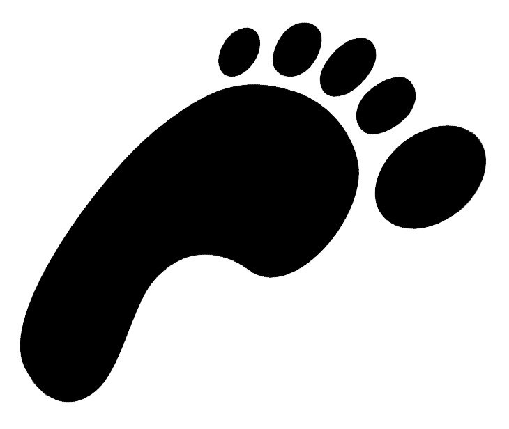 Free Clip Art Footprints - Cliparts.co