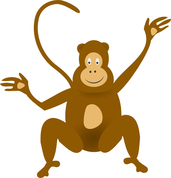 57 images of Baby Monkey Clip Art . You can use these free cliparts ...