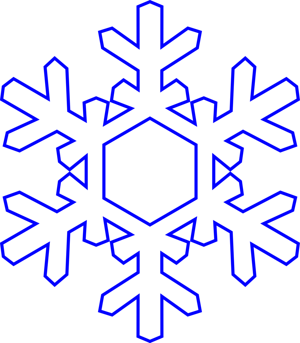 Snowflake | Free Stock Photo | Illustration of a snowflake | # 16218
