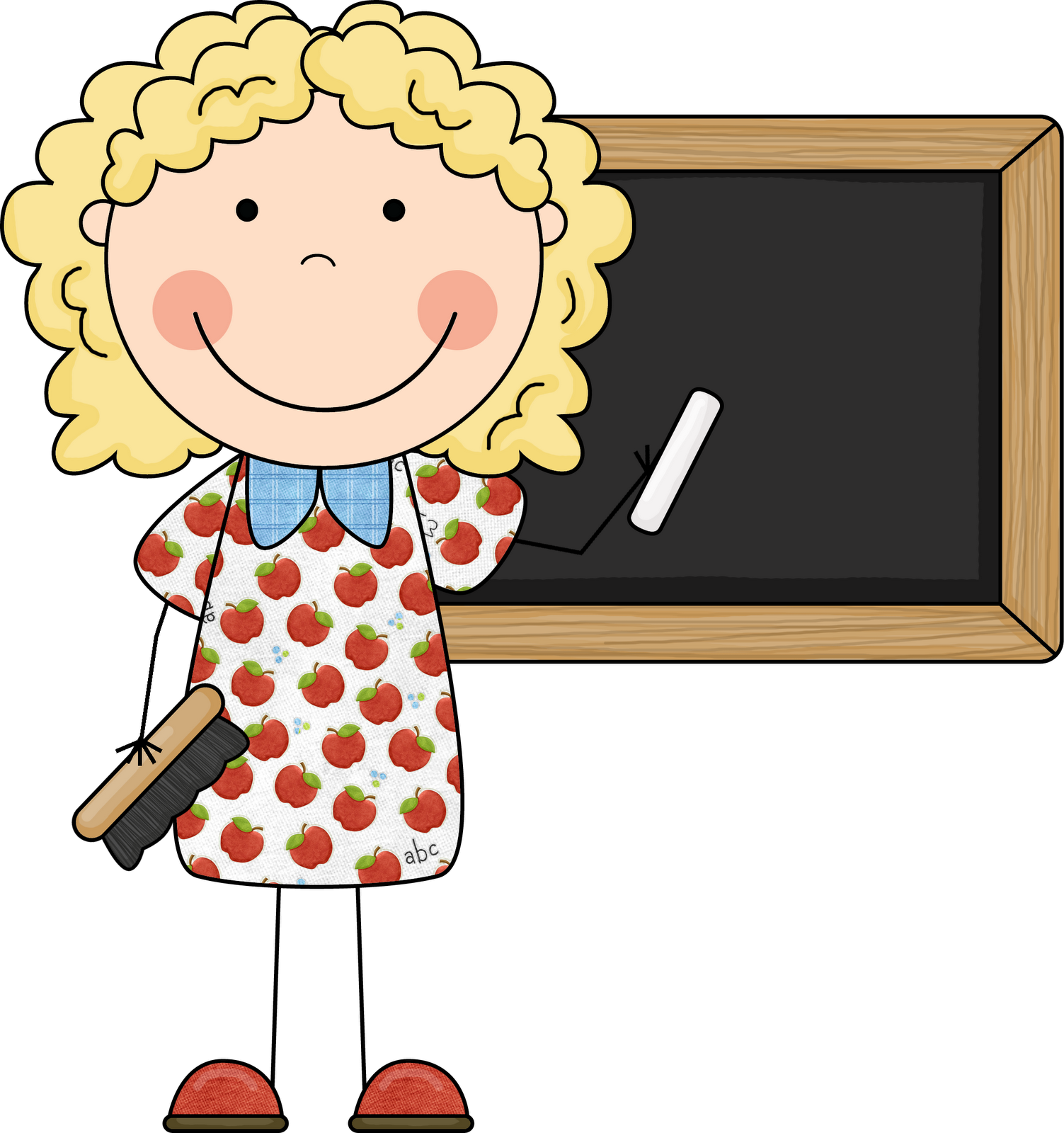 Cartoon Teacher Clip Art Clipartsco