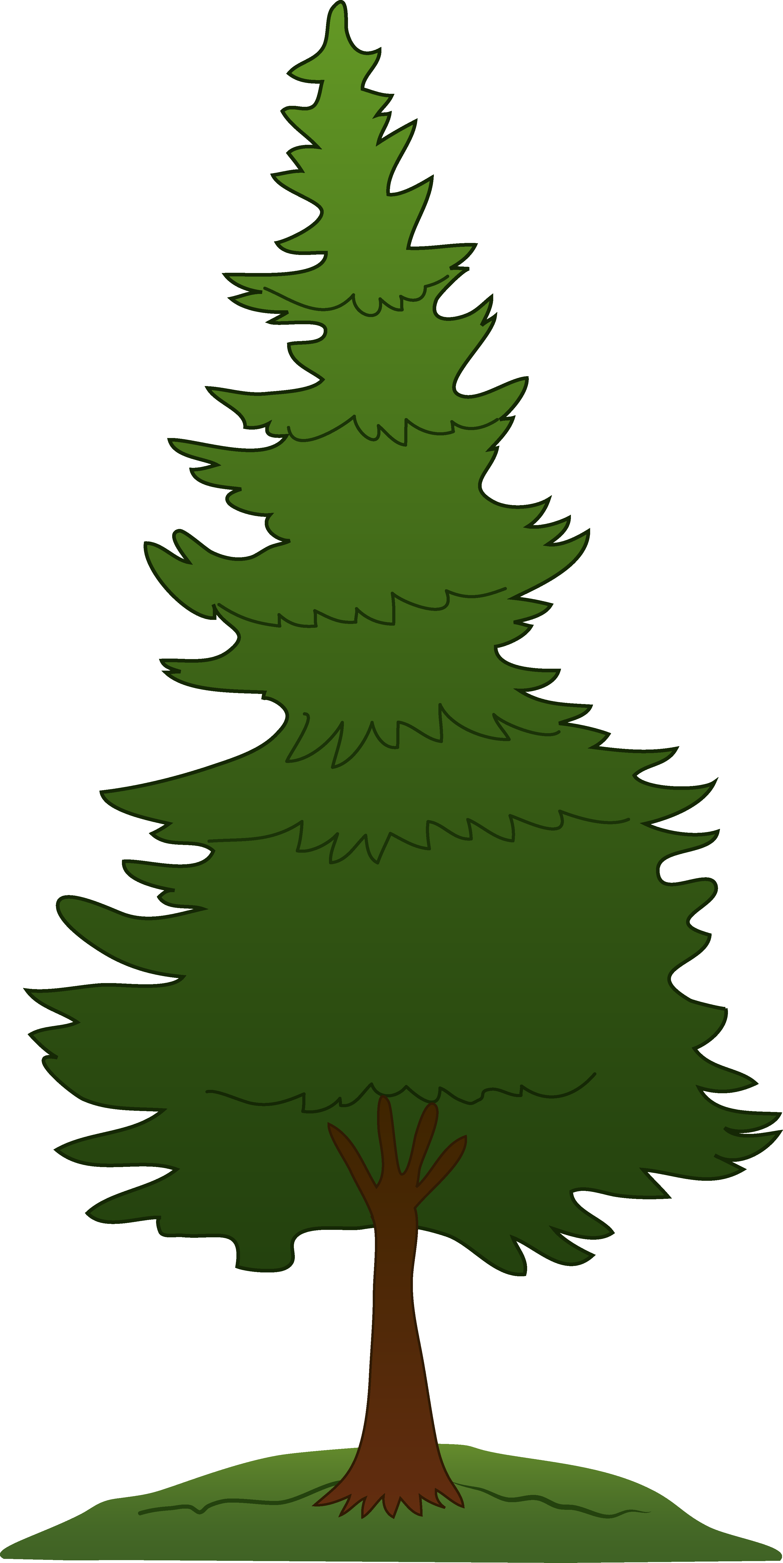 pine tree graphics clipart rh worldartsme com pine tree outline graphic pine tree graphic art