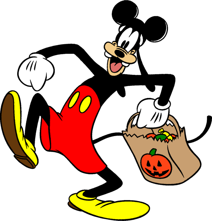 Disney's Character Goofy Halloween Mickey Mouse Costume Clipart ...
