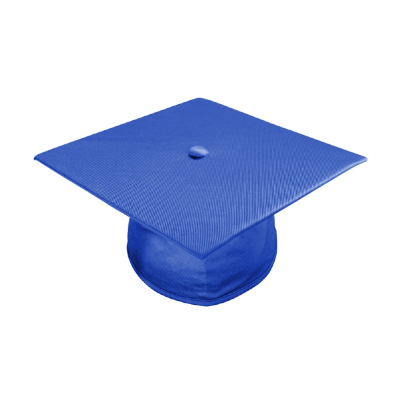 Royal Blue Graduation Gown