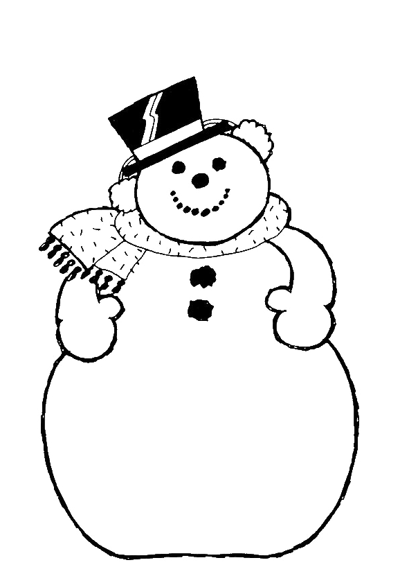 The Big Of Frosty Snowman Coloring For Kids - Frosty Coloring ...