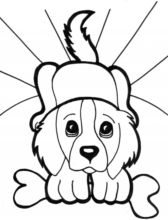 Coloring Pages Of Kittens And Puppies To Print Dalarconcom