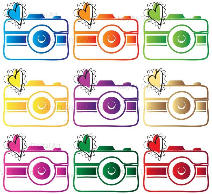 Digital Clip Art Photographer Logo Camera Clipart Photography Element Cliparts Co