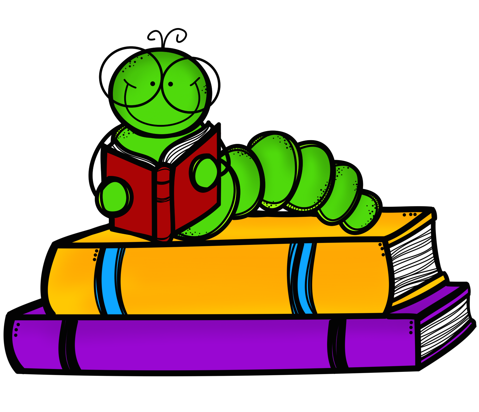 Book worm clip art cliparts co