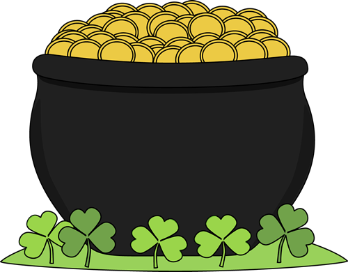 Picture Of A Pot Of Gold - Cliparts.co