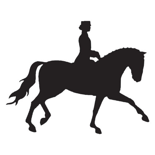 clip art dressage horse - photo #5