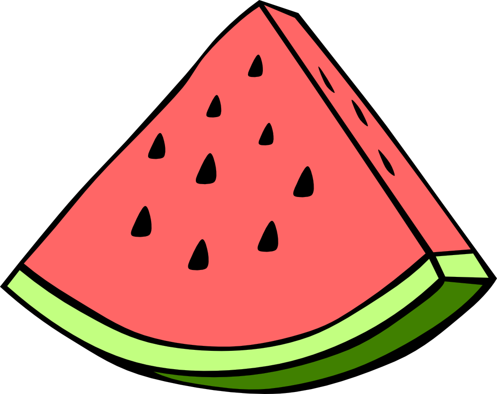 Watermelon Slice Clipart | Clipart Panda - Free Clipart Images