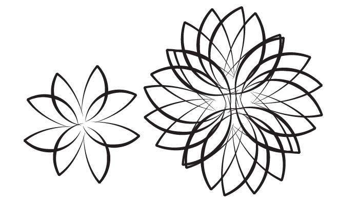 Graphic Design Flowers - Cliparts.co