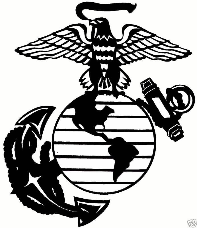 usmc clipart clipartsco