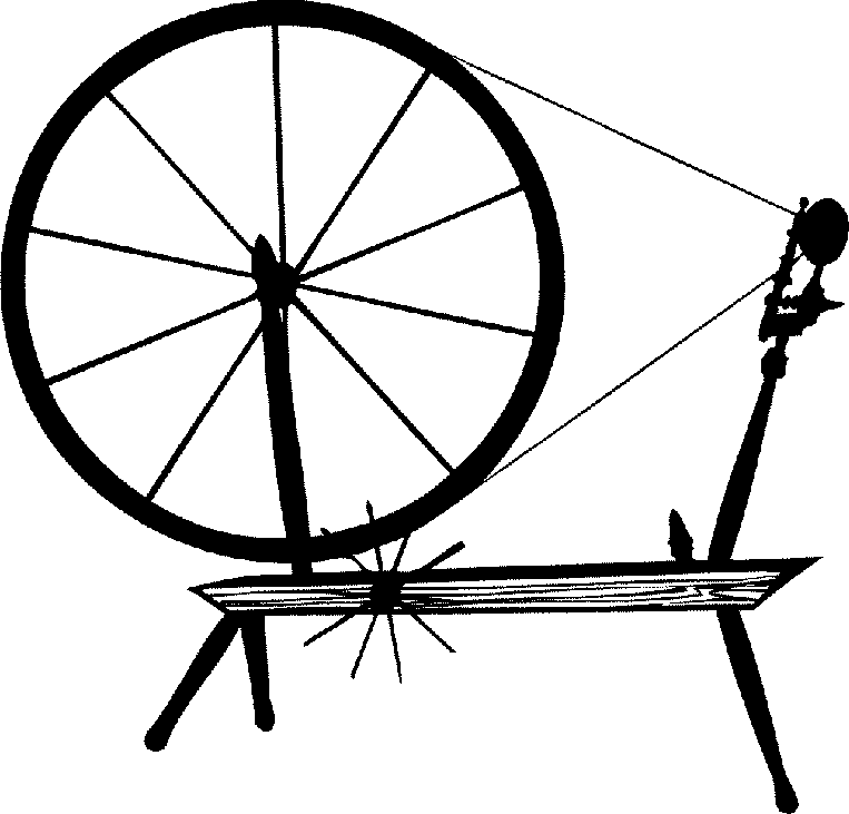Wheel Clipart Black And White