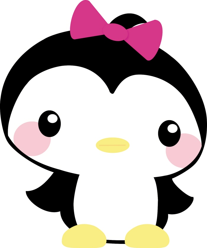 Baby girl penguin