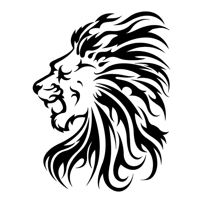 Lions Tigers And Dogs Tattoo - Cliparts co