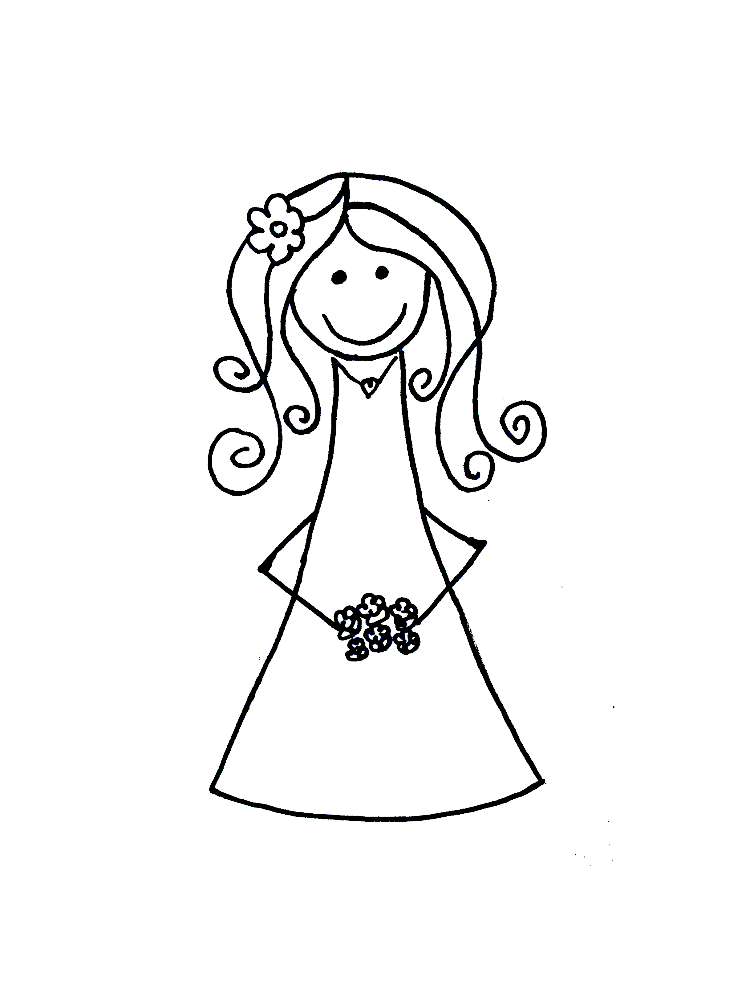 Bride And Groom Cartoon Clip Art - Cliparts.co
