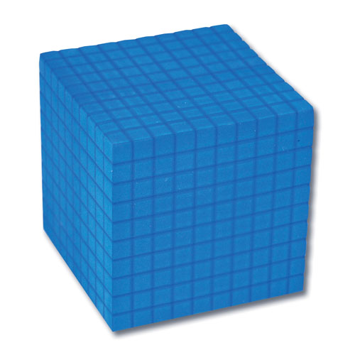 Base 10 Soft Foam Blue Thousand Blocks (25) [122804] - $79.99 ...