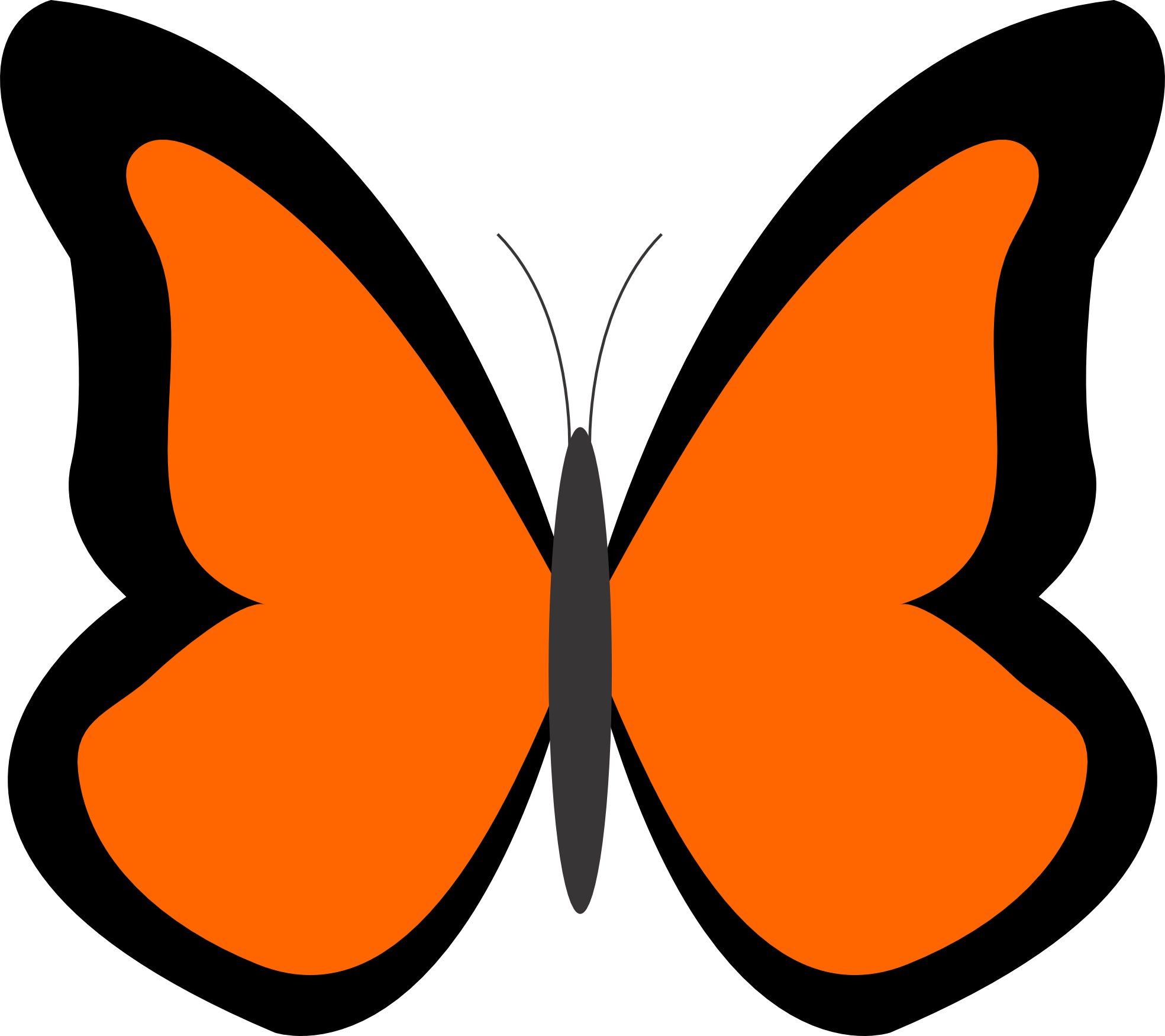 Butterfly Image Clipart - Cliparts.co