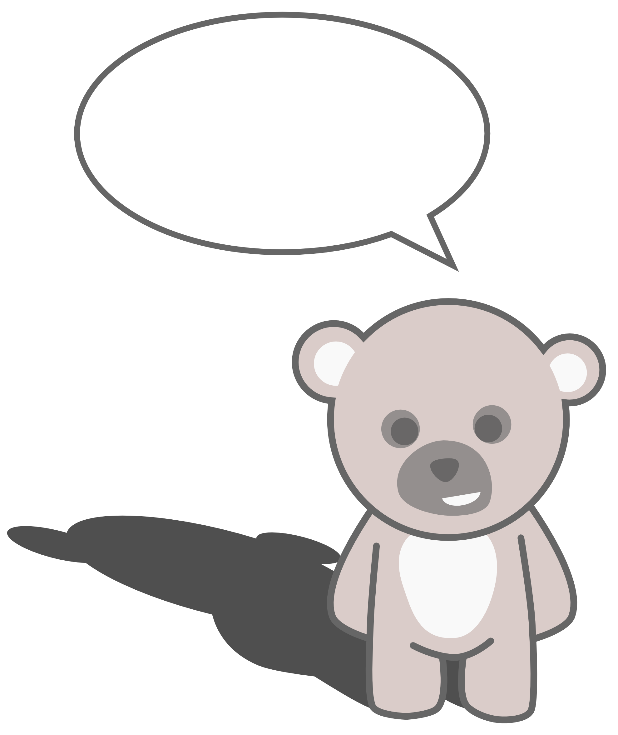 clipartist.net » Clip Art » stellaris cute teddy bear scalable ...