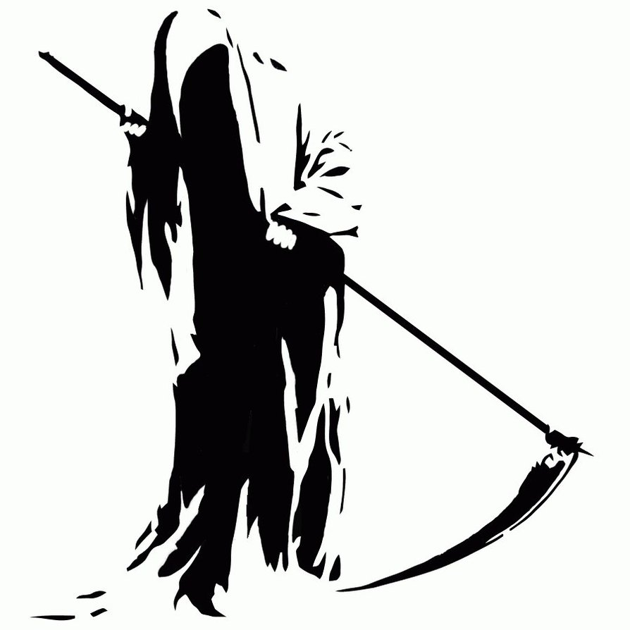 grim reaper clip art. Black Bedroom Furniture Sets. Home Design Ideas