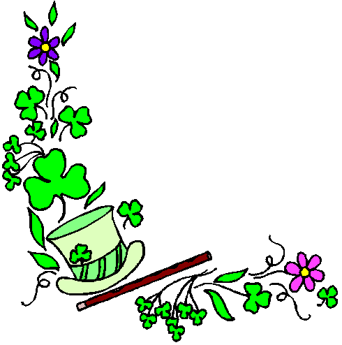 Free St Patricks Day Borders Clipart - Public Domain Holiday ...