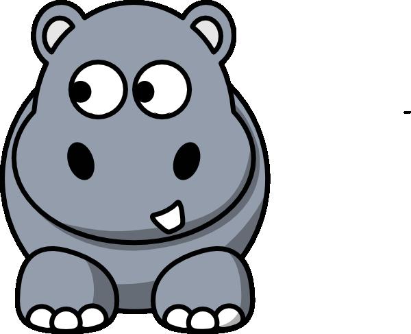 baby hippo clipart - photo #5