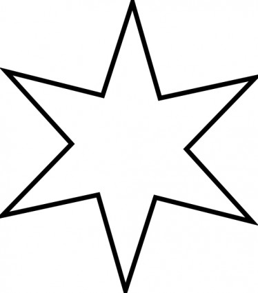 Christmas Star Clipart Black And White | Clipart Panda - Free .