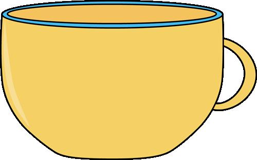 Empty cup clip art