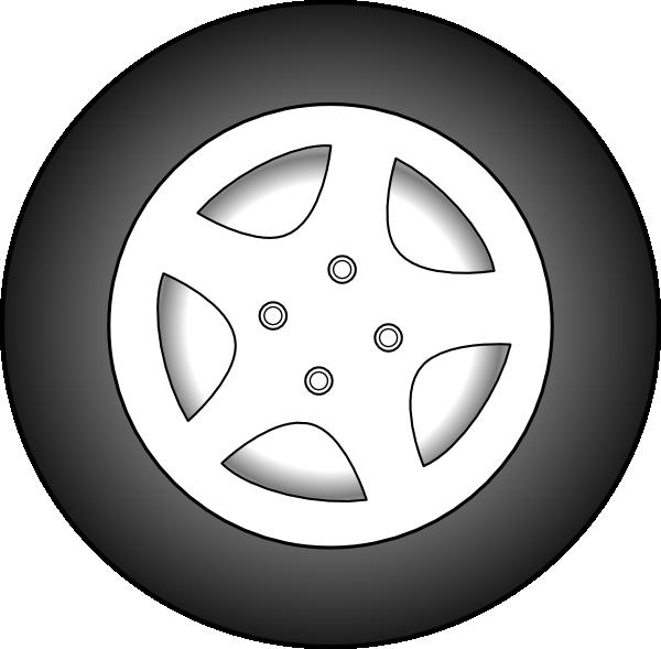 Clip Art Tractor Wheels : Tire clip art cliparts