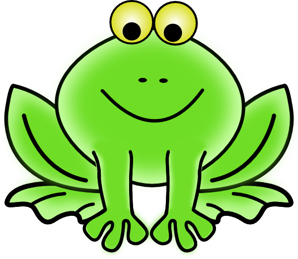 Frog On A Log Clip Art Black And White | Clipart Panda - Free ...