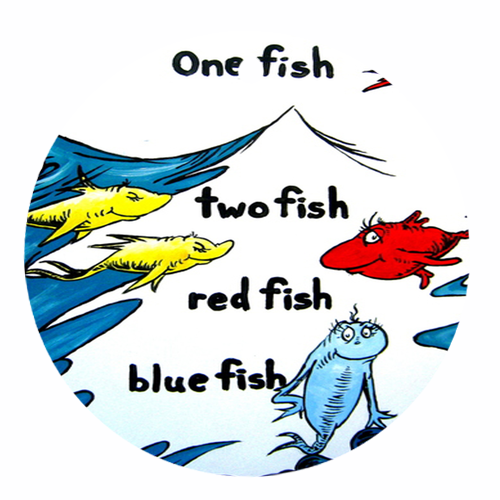 photograph relating to Dr.seuss Fish Printable named No cost Printable Dr. Seuss Clip Artwork -