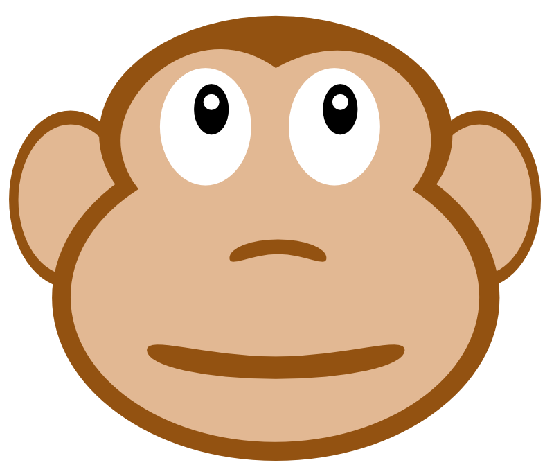 Related Pictures Monkey Face Clip Art Car Pictures