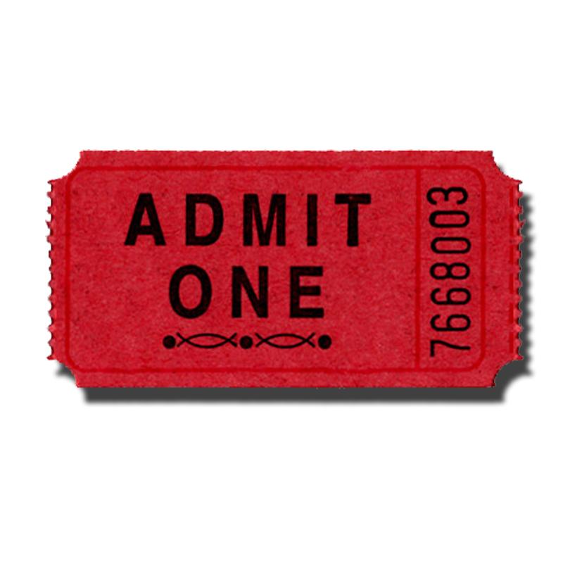 Admit One Ticket Clip Art Clipartsco – Admit One Template