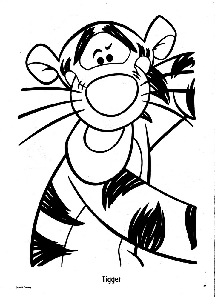 My Friends Tigger Pooh Printable Disney Channel S Coloring Cliparts Co