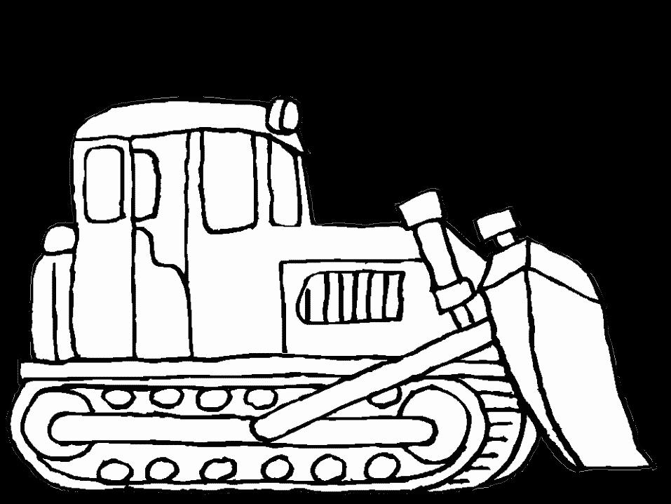 Cartoon John Deere Tractor Clipartsco