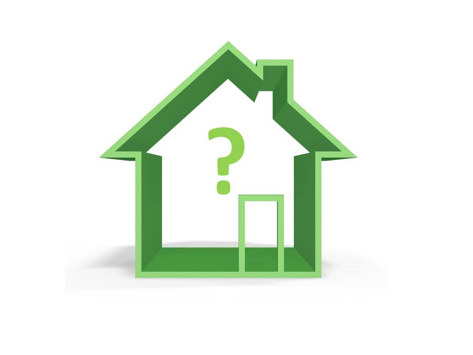 Question mark pictures Questions when buying a house