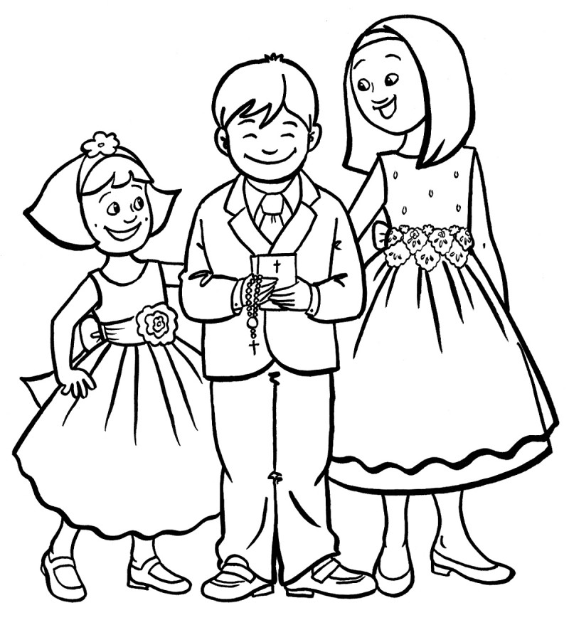 coloring pages of wedding bells - photo#33
