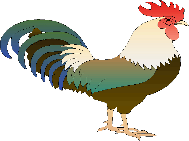 rooster clip art images - photo #26