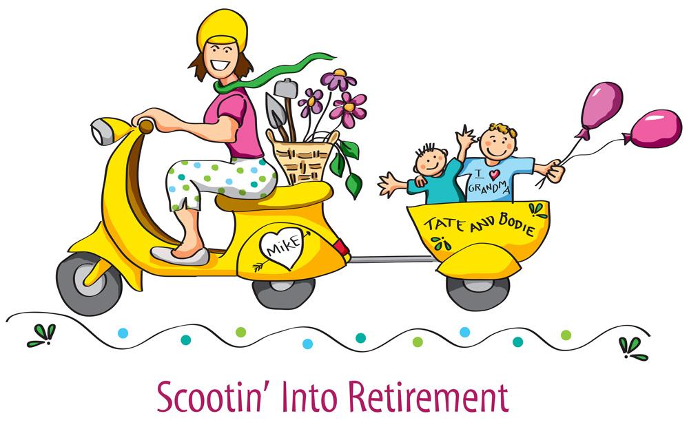 clip art images for retirement - photo #44