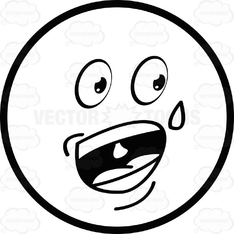 Nervous Smiley Face - Cliparts.co