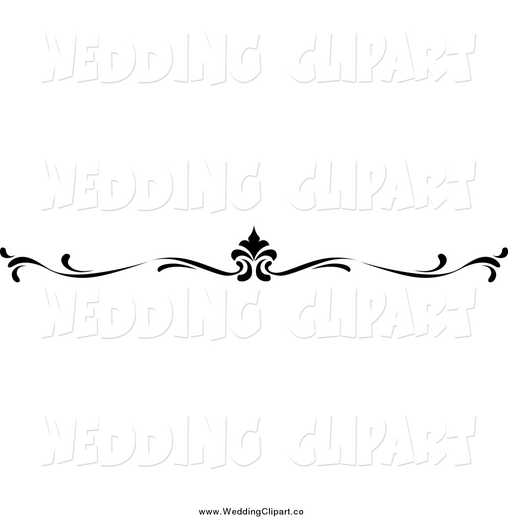 Wedding Clip Art Black And White Border - Cliparts.co