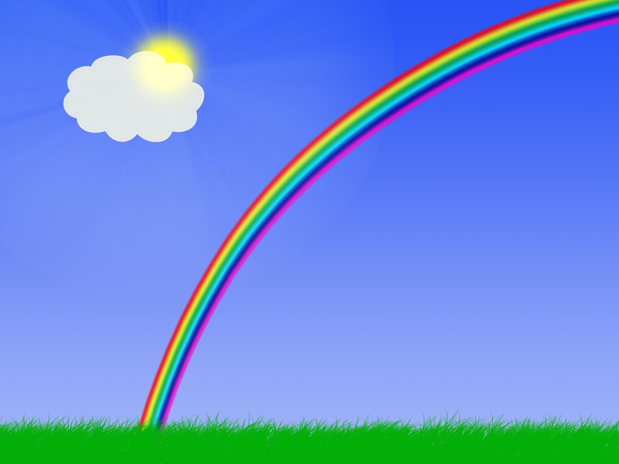 rainbow cartoon cliparts co