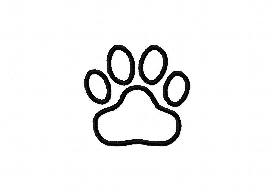 Clip Art Cat Paw Print - Cliparts.co