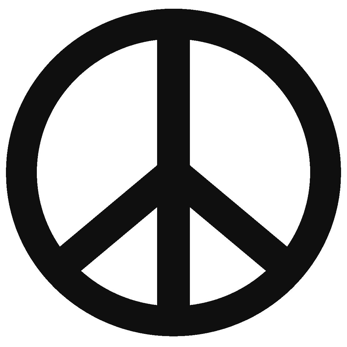 Peace Sign Template - ...