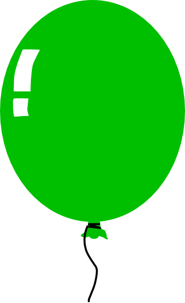 Green Balloon clip art - vector clip art online, royalty free ...: cliparts.co/balloon-cartoon-pictures