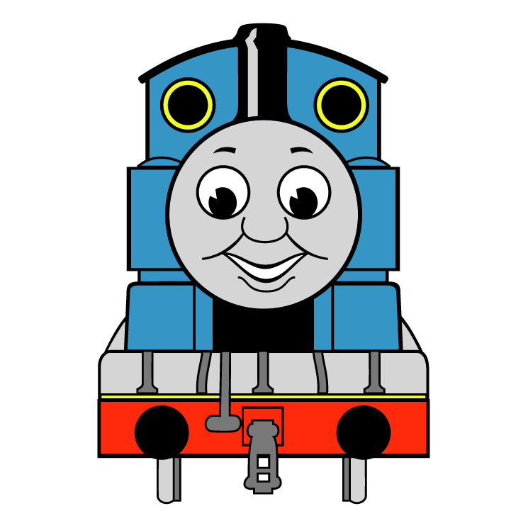 Engine clip art for Thomas the tank engine face template